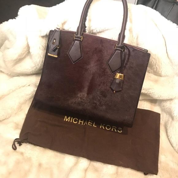 1bd4155387cf Michael Kors Collection Bags | Large Casey Bag Bordeaux | Poshmark